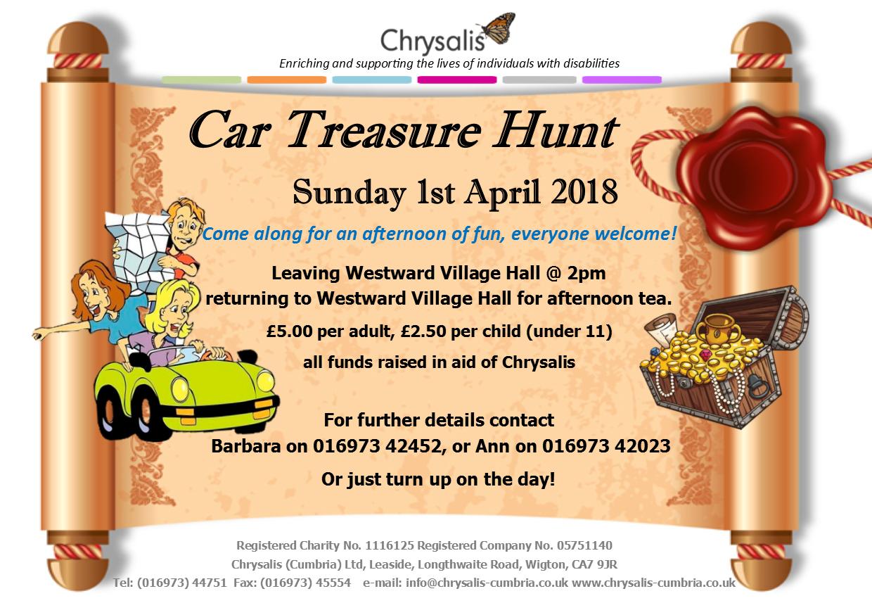 Easter Car Treasure Hunt