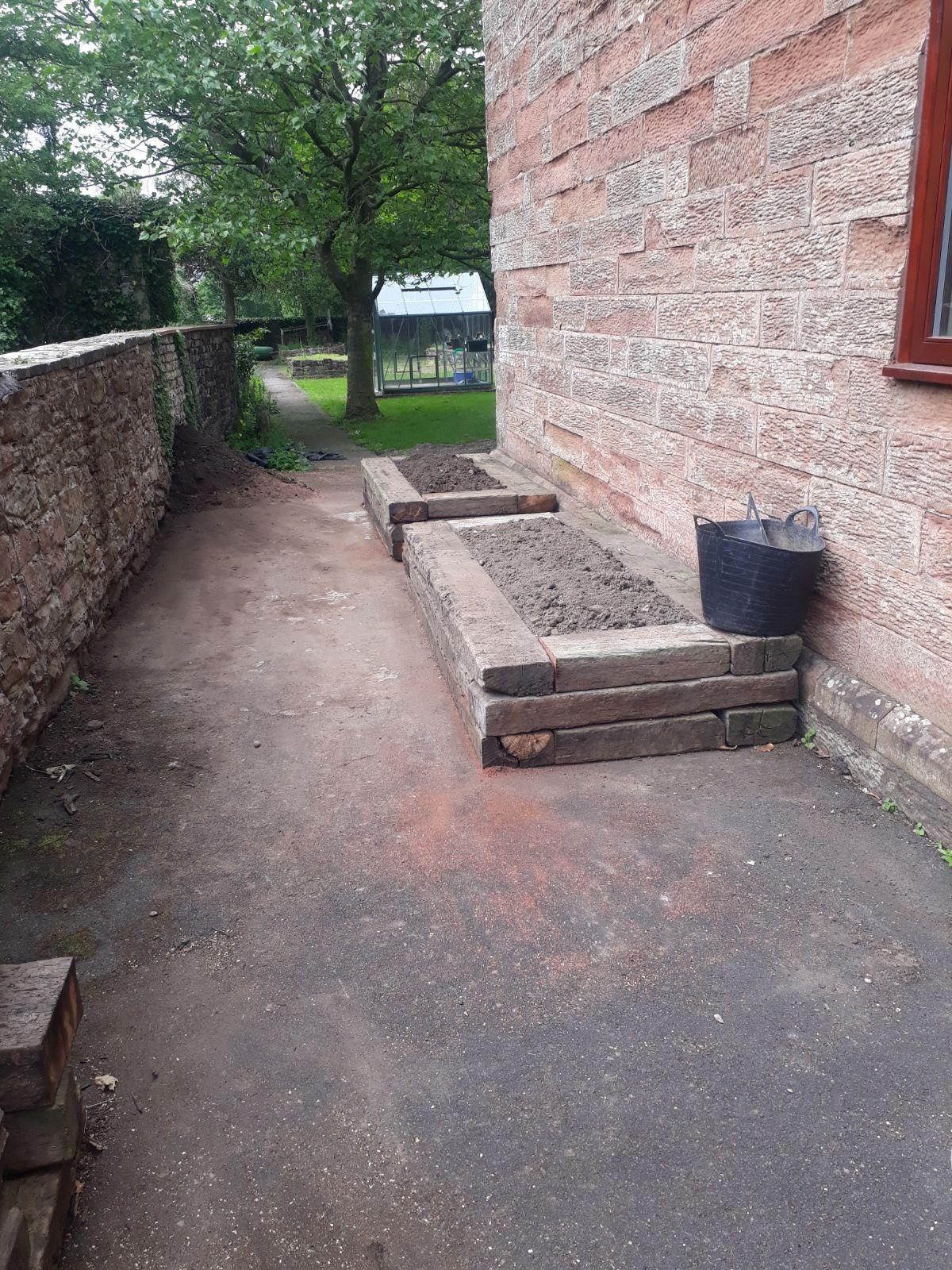 Sensory Garden progress